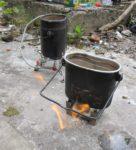 Сухое горючее vs газ. Эксперимент с кипячением воды